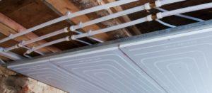 Принцип работы холодного потолка