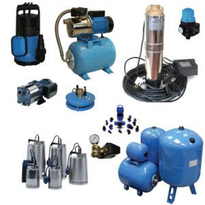 Виды и принцип действия насосного оборудования