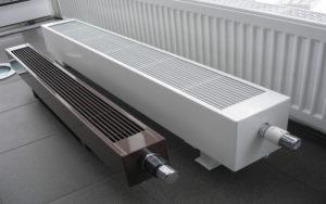 Монтаж конвекторов и радиаторов